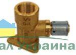 Pexal Valsir Муфта угловая соединительная с установочной рамой 20х3/4