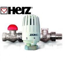 Herz Комплект для подключения радиатора Project прямой (TS-90-V DN 15, RL-1 DN 15)