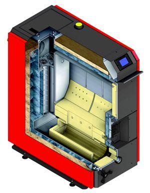 Пиролизный котел Defro HG 40 кВт цена