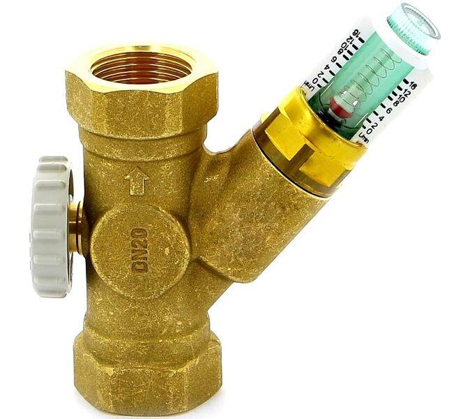 "Watts Балансировочный вентиль SRVOL-IG (WATTFLOW OL) 3/4"" ВР DN20 2-16 л/мин."
