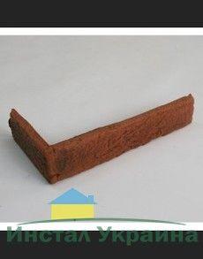 Угловой элемент из искусственного камня Калифорния россо