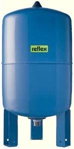 Гидроаккумулятор вертикальный Reflex Refix DE 7306005 50L DE (синий) 10 бар (мембрана не сменная)