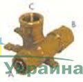 Pexal Valsir Тройник соединительный Т-образный с трубой держателем 16х16х1/2