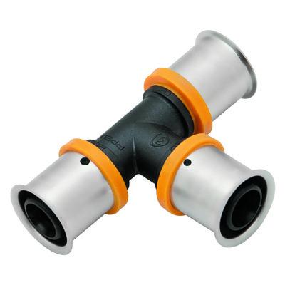KAN Тройник PPSU Press c пресс-кольцом 20x2 K-900501 цены