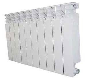Радиатор алюминиевый Diva 500x80 цены