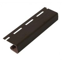 RAINWAY Софит Джей профиль (J) 3000 мм (коричневый)