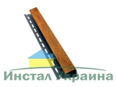 Bryza Софит Джей профиль (J) 4000 х 45 мм (Золотой дуб)