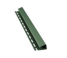 Bryza Софит Джей профиль (J) 4000 х 45 мм (Зеленый)