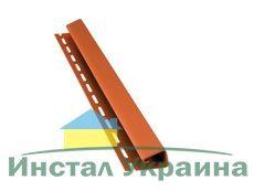 Bryza Софит Джей профиль (J) 4000 х 45 мм (Кирпичный)