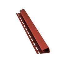 Bryza Софит Джей профиль (J) 4000 х 45 мм (Красный)