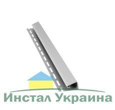 Bryza Софит Джей профиль (J) 4000 х 45 мм (Белый)