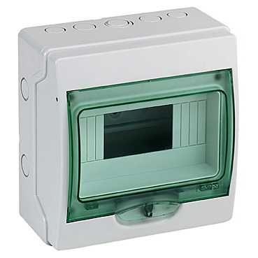Schneider electric Щит навесной 1 ряд 8 модулей прозрачные двери IP65 (13978) цена