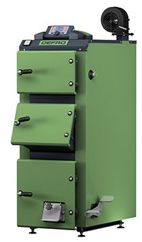 Твердотопливный котел Defro KDR PLUS 12 кВт