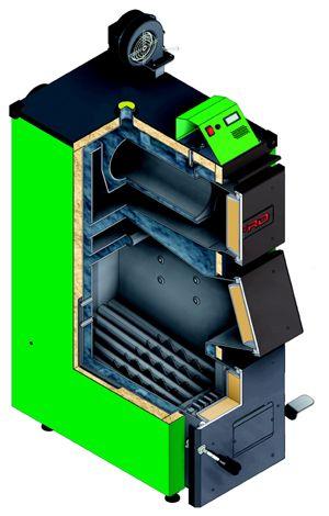 Твердотопливный котел Defro KDR PLUS 40 кВт