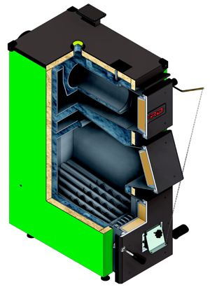 Твердотопливный котел Defro KDR 40 кВт