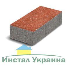 Тротуарная плитка Кирпич Стандартный (красный) 200х100 (8 см)