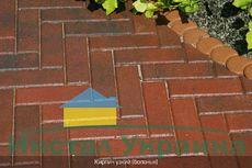 Тротуарная плитка Кирпич Узкий (болонья) 210х70 (6 см)