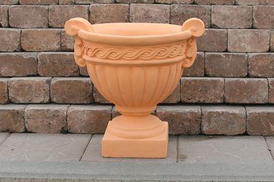 Бетонная ваза Греция (серый) цена