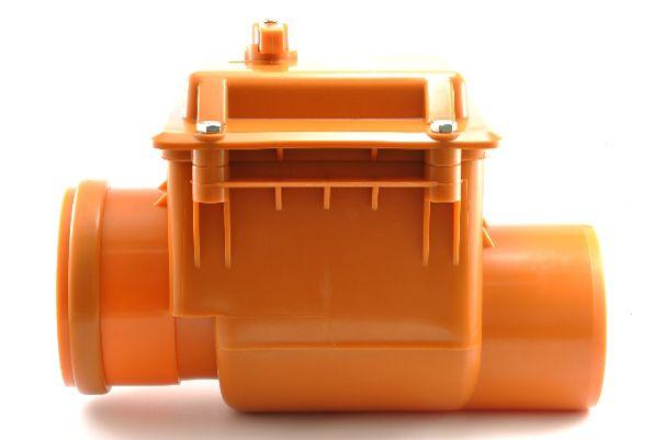 Мпласт Обратный клапан DN 200 для наружной канализации
