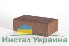 Тротуарная плитка Кирпич Стандартный (коричневый) 200х100 (6 см)