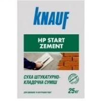 Кнауф НР Старт Цемент, штукатурно-кладочная смесь 25 кг цена