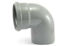 Мпласт колено 110 / 87°30 для внутренней канализации