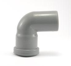 Мпласт колено 50 / 87°30 для внутренней канализации