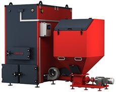 Твердотопливный котел Defro KOMPAKT MAX 75-450 100 кВт