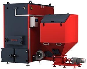 Котел на угле Defro KOMPAKT MAX 75-450 200 кВт