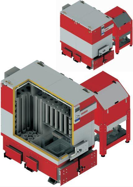 Котел на угле Defro KOMPAKT MAX 75-450 250 кВт