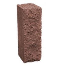 Столбик декоративный 250х100х80 (коричневый)