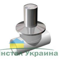 Firat Полипропиленовый кран вентиль скрытый под штукатурку 20