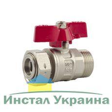 """Кран шаровый FADO с накидной гайкой PN40 15 1/2"""""""