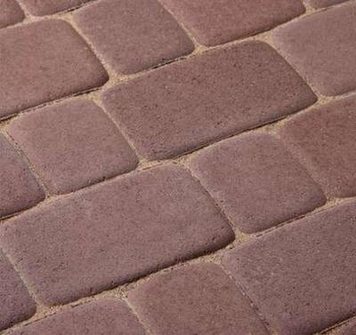 Тротуарная плитка Старая площадь 300х300 (коричневый) для пешеходной зоны (4 см) цены