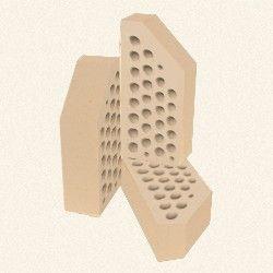 Кирпич керамический лицевой фасонный ЦФ-2 кремовый цена