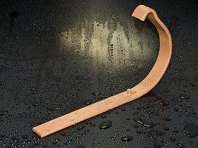 HyPro Крюк довгий L=210мм ф 150 глянцевая поверхность 9006 Серебрянный металик