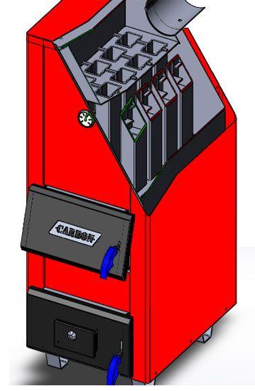 Твердотопливный котел CARBON- КСТо-30м