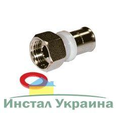 Valtec VTm.222 Пресс муфта с накидной гайкой 16 х 1/2 R