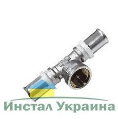 Valtec VTm.232 Тройник пресс с внутр.р. 20x3/4 Rx20