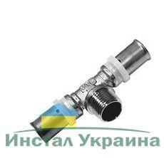 Valtec VTm.233 Тройник пресс с нар.р. 26x3/4 Rx26