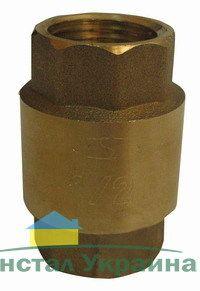Solomon Клапан обратного хода воды(C6022) 1 1/2 R латунный шток
