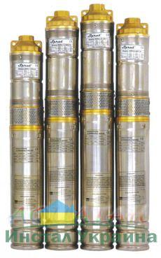 Глубинный насос Sprut QGDа 1,2-100-0.75kW нерж. + пульт