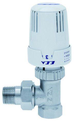 ECA Вентиль термостатический 1/2` угловой