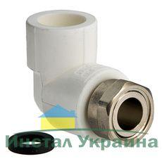 TEBO Полипропиленовый Колено с накидной гайкой ППР 25х3/4В