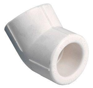 TEBO Полипропиленовый Колено ППР 50х45*