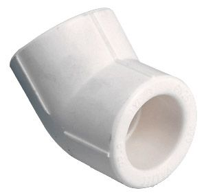 TEBO Полипропиленовый Колено ППР 40х45* цены