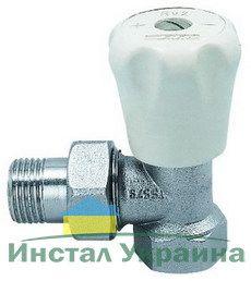 ECA Вентиль радиат. Механический 3/4` угловой