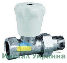 ECA Вентиль радиат. Механический 3/4` прямой