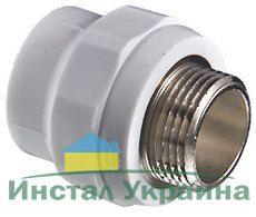 TEBO Полипропиленовая Муфта ППР 50х1 1/2 Н