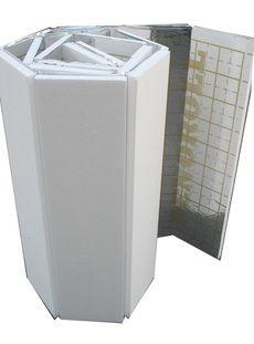 Мат под тёплый пол с разметкой, теплоотражающий 20 мм. Плотность 25кг/м3 облегченная